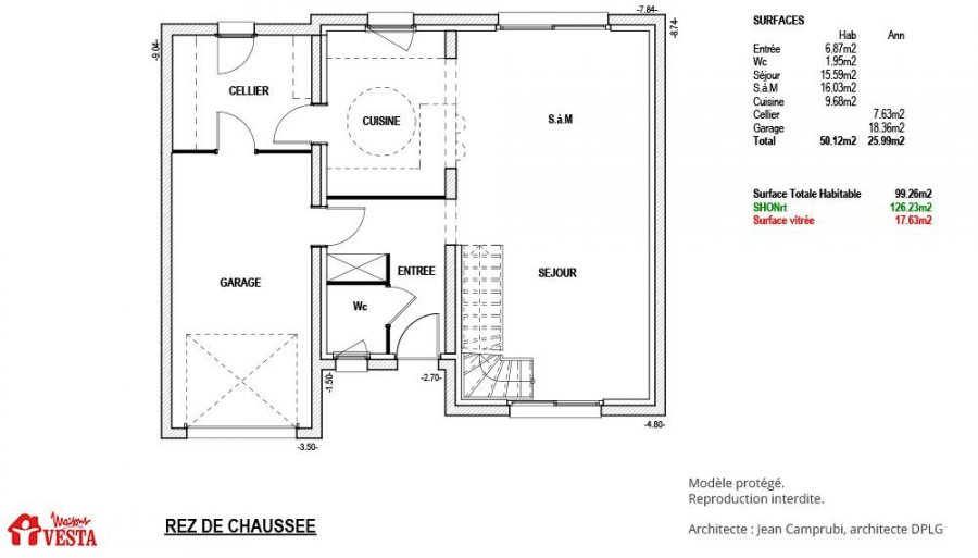 acheter maison 4 pièces 100 m² pont-à-mousson photo 3