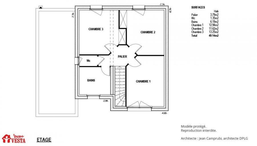 acheter maison 4 pièces 100 m² pont-à-mousson photo 2