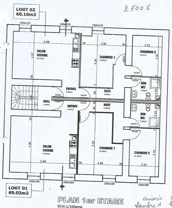 acheter immeuble de rapport 10 pièces 370 m² audun-le-tiche photo 4