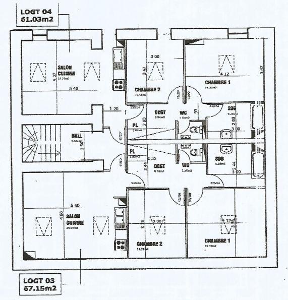 acheter immeuble de rapport 10 pièces 370 m² audun-le-tiche photo 5