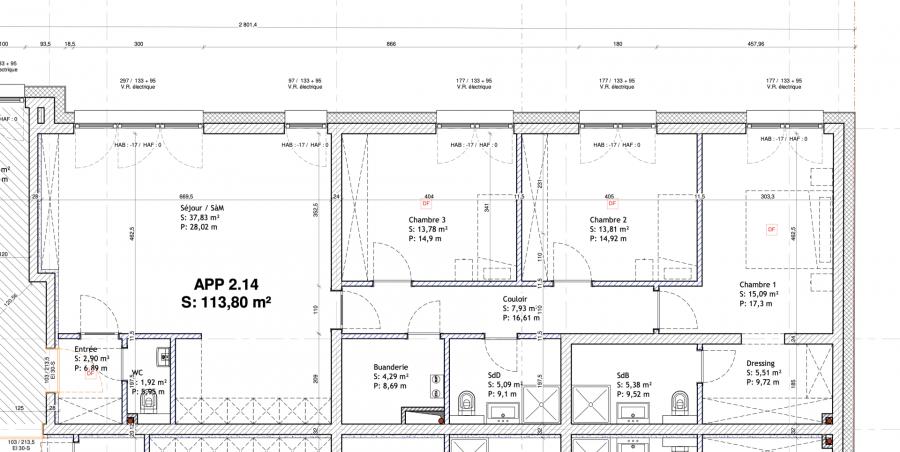 acheter appartement 3 chambres 117.19 m² mondorf-les-bains photo 2
