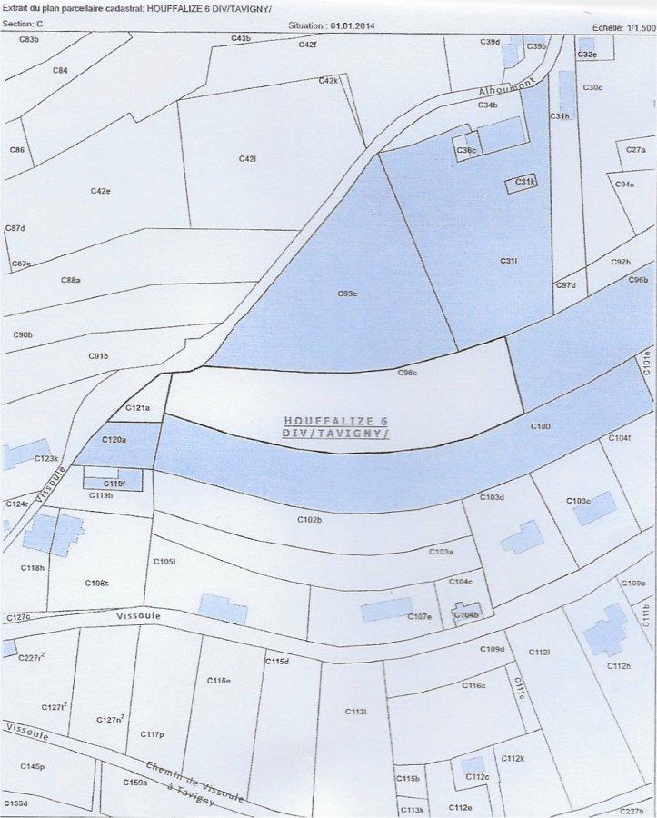 Terrain constructible à vendre à Vissoule