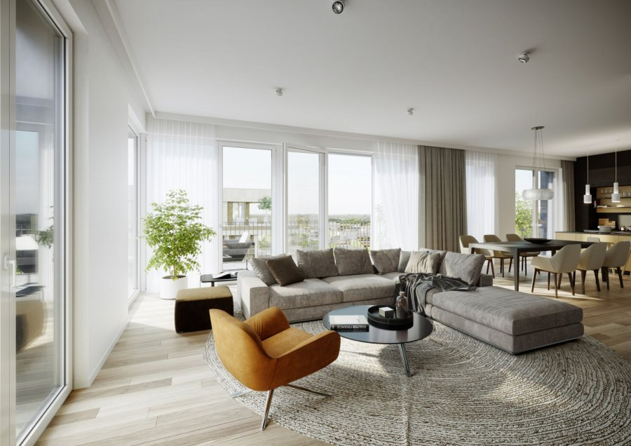 acheter penthouse 4 chambres 135.5 m² luxembourg photo 2
