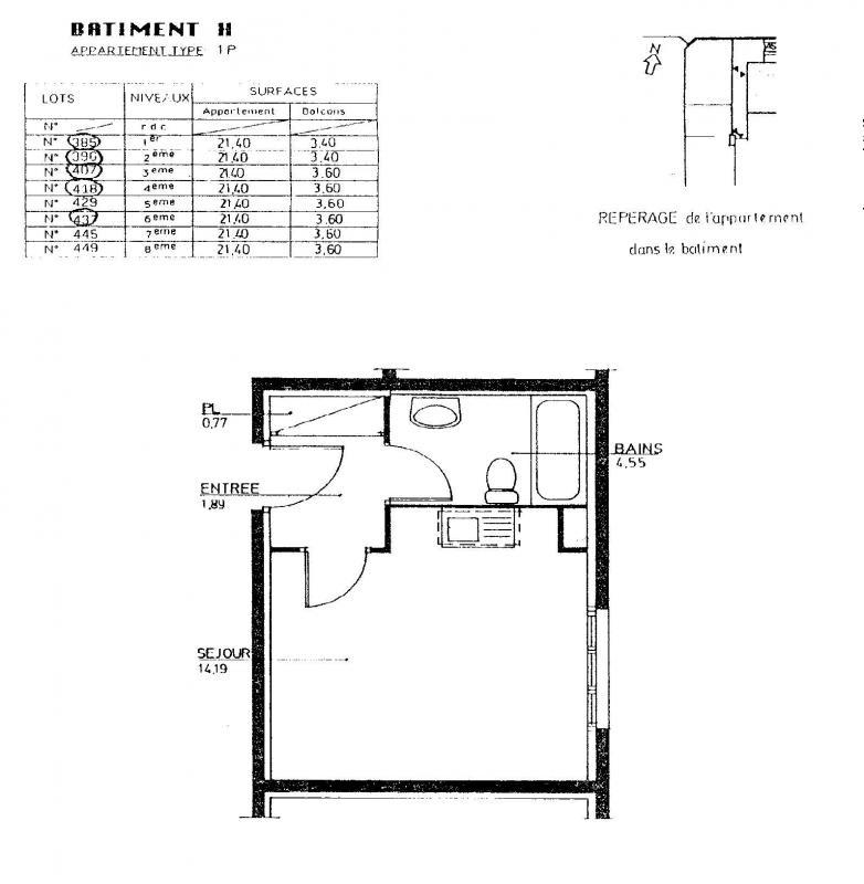 louer studio 1 pièce 21 m² nancy photo 2