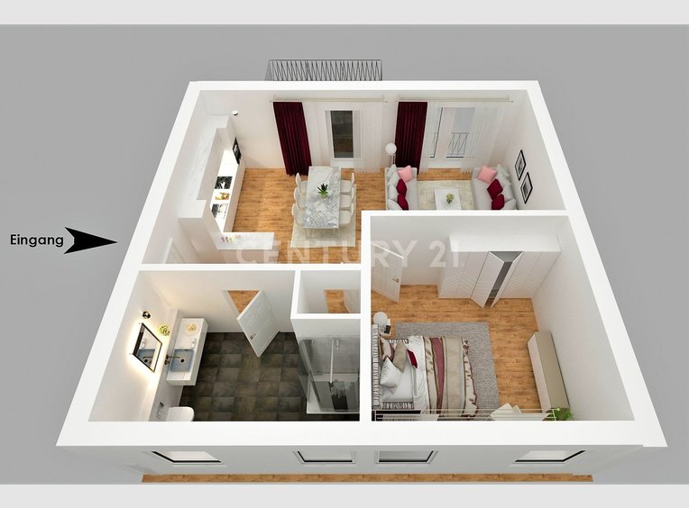 Wohnung zum Kauf 2 Zimmer in Mettlach (DE) - Ref. 7013152