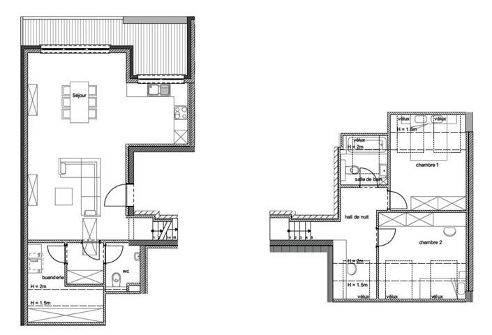 acheter penthouse 2 pièces 115.8 m² arlon photo 2