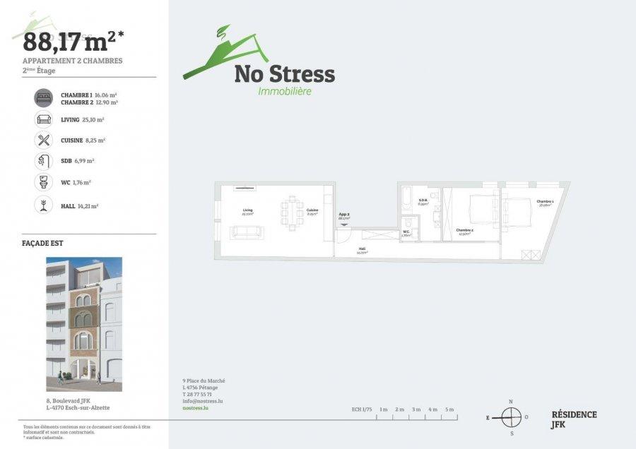 acheter appartement 2 chambres 89 m² esch-sur-alzette photo 4