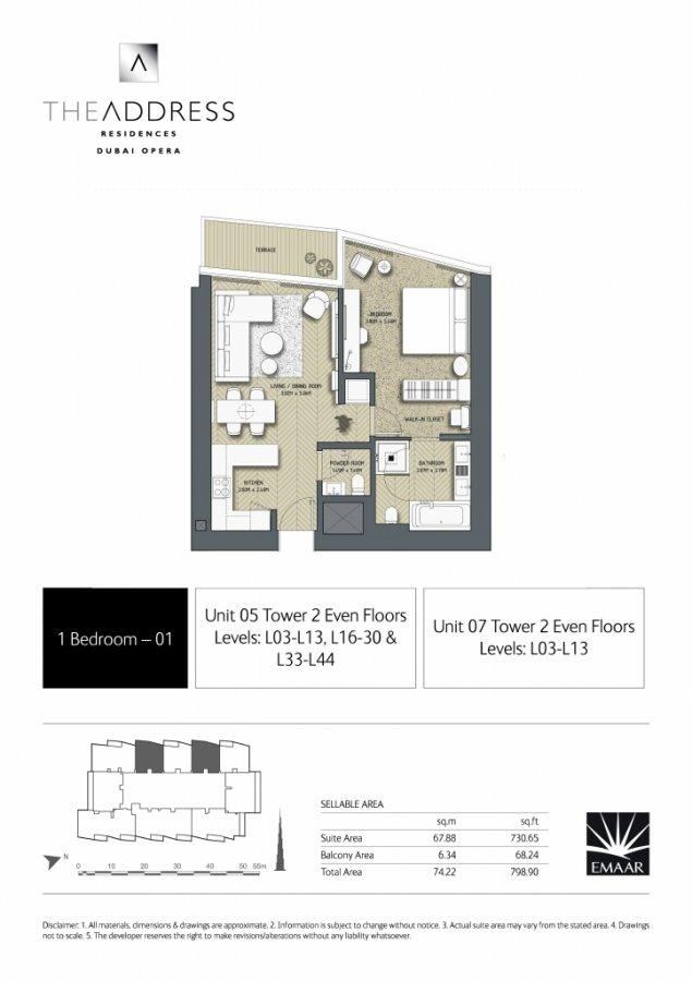 Appartement à vendre à Dubai