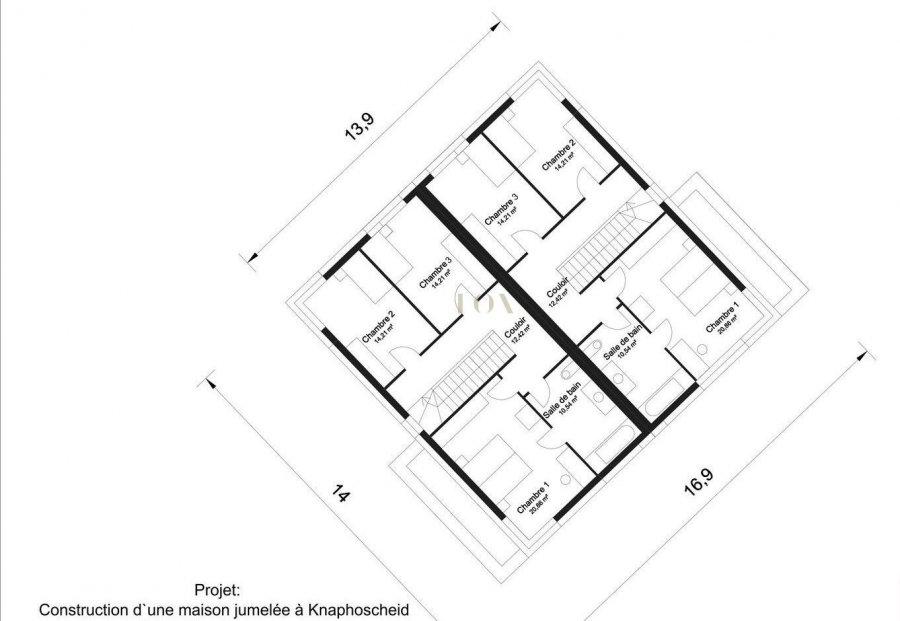 acheter maison jumelée 3 chambres 150 m² knaphoscheid photo 3