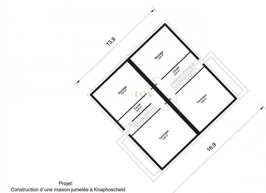 acheter maison jumelée 3 chambres 150 m² knaphoscheid photo 4