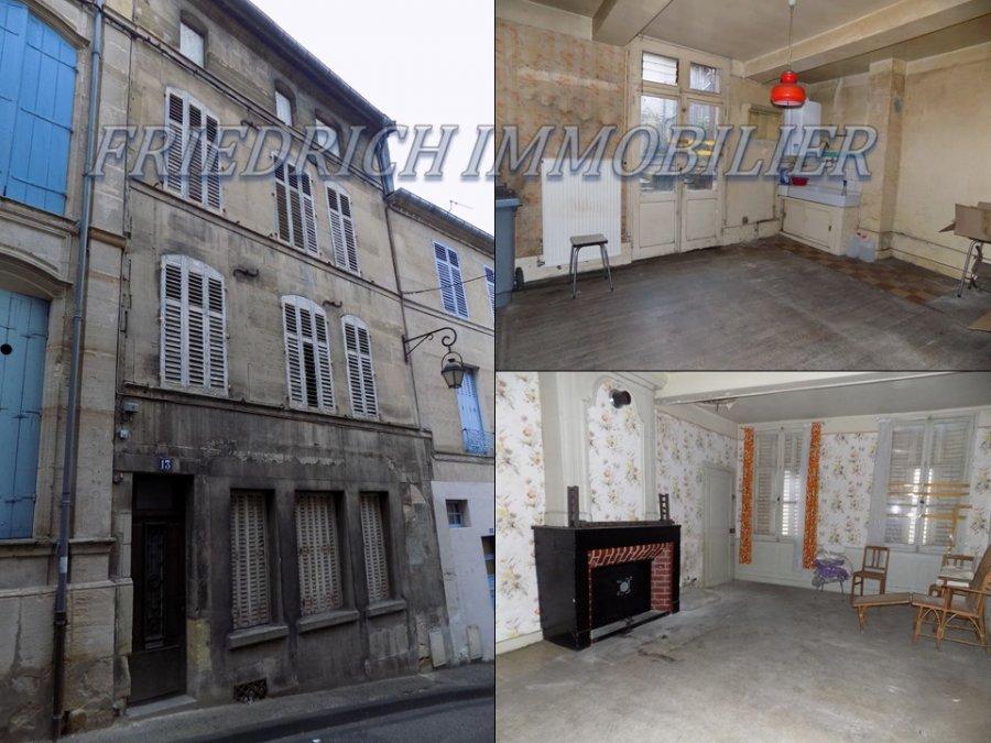 acheter maison 6 pièces 128 m² bar-le-duc photo 1