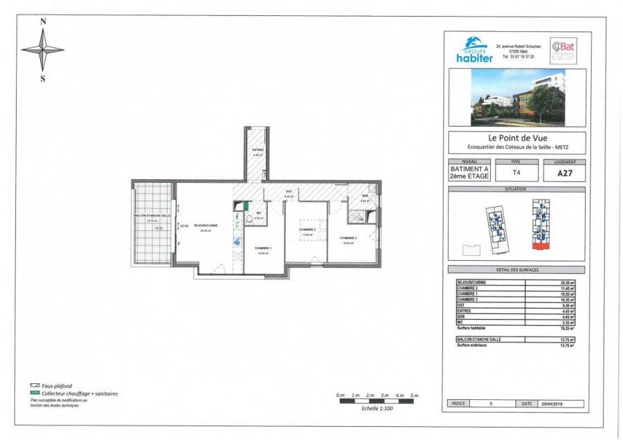 acheter appartement 4 pièces 78 m² metz photo 1