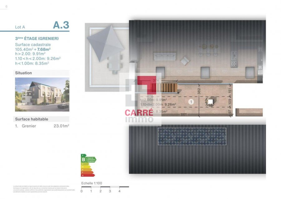 duplex for buy 2 bedrooms 113 m² luxembourg photo 4