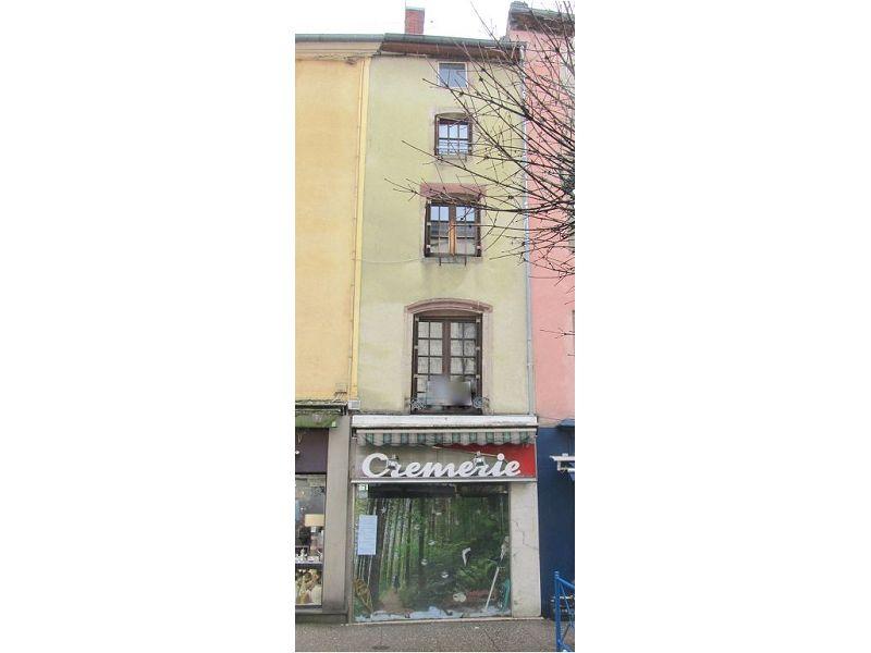 acheter immeuble de rapport 2 pièces 150 m² mirecourt photo 1