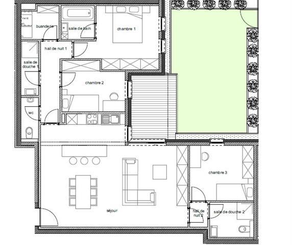 wohnung kaufen 3 zimmer 112.4 m² arlon foto 2