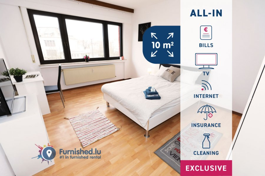 louer chambre 4 chambres 10 m² luxembourg photo 1