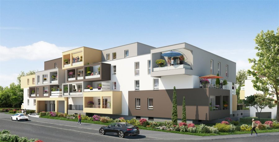 acheter appartement 4 pièces 89 m² metz photo 2