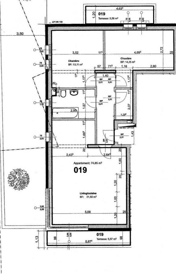 acheter appartement 2 chambres 74 m² nocher photo 2