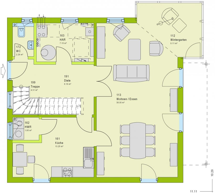 haus kaufen 4 zimmer 162 m² freudenburg foto 2