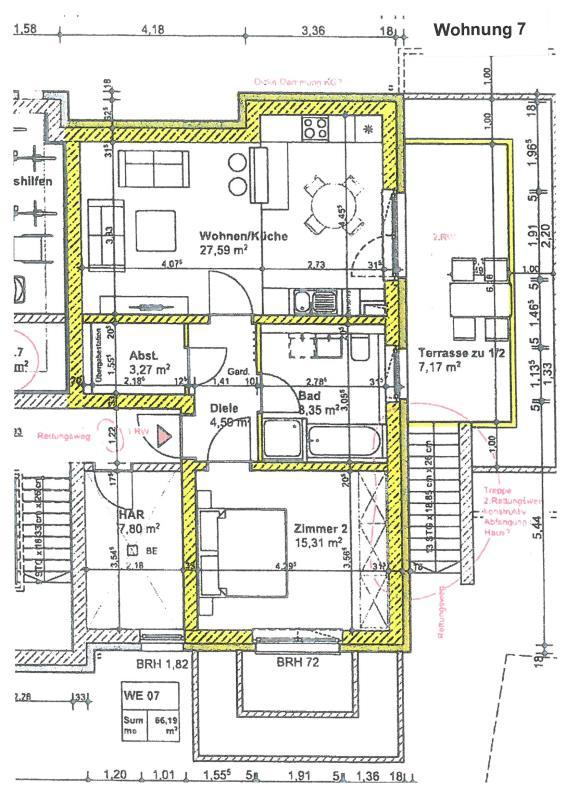 wohnung kaufen 2 zimmer 68.36 m² trier foto 3