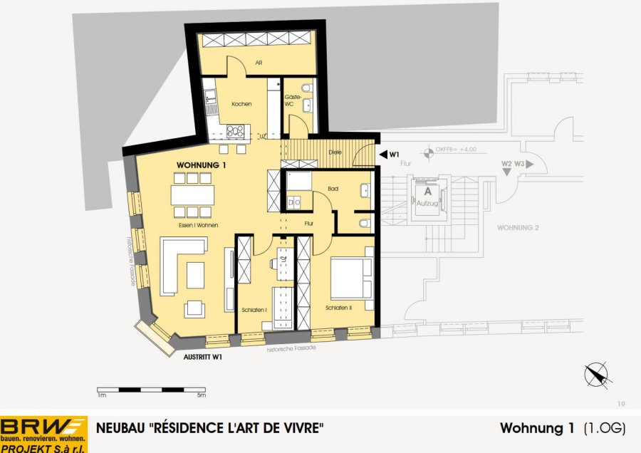 acheter appartement 2 chambres 117.87 m² echternach photo 4