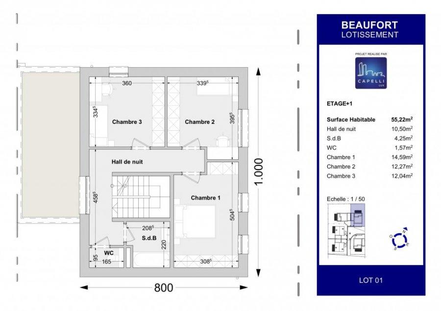 acheter maison individuelle 4 chambres 147.04 m² beaufort photo 4