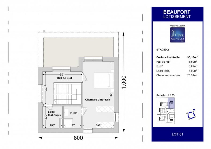 acheter maison individuelle 4 chambres 147.04 m² beaufort photo 5