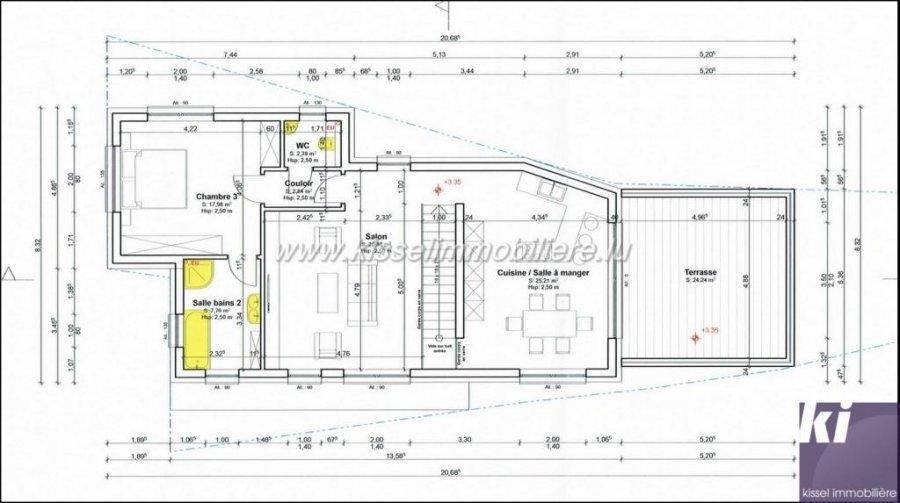 acheter maison mitoyenne 3 chambres 138 m² wallendorf-pont photo 7