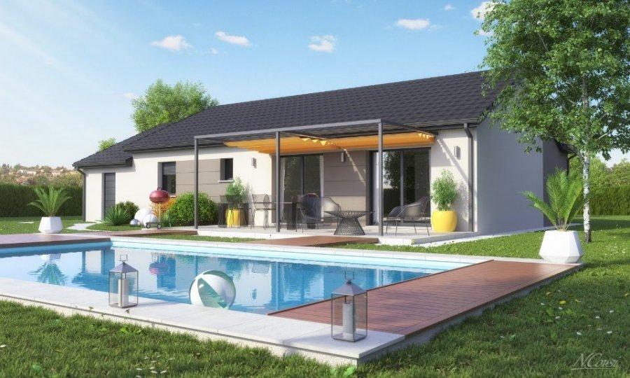 acheter maison 5 pièces 104 m² courcelles-chaussy photo 1