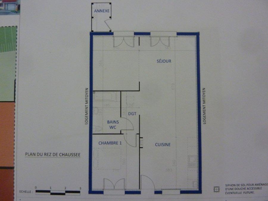 acheter maison mitoyenne 3 pièces 70.1 m² mont-saint-martin photo 2