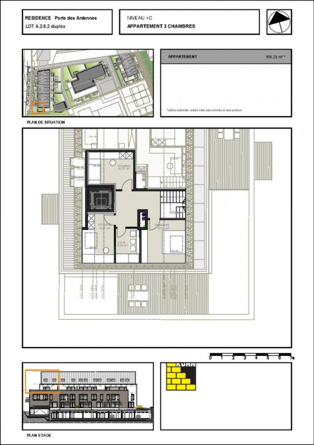 acheter duplex 3 chambres 111.29 m² erpeldange (ettelbruck) photo 7