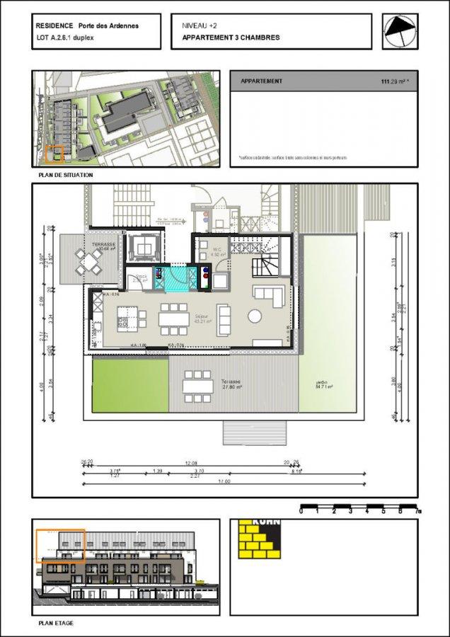 acheter duplex 3 chambres 111.29 m² erpeldange (ettelbruck) photo 6
