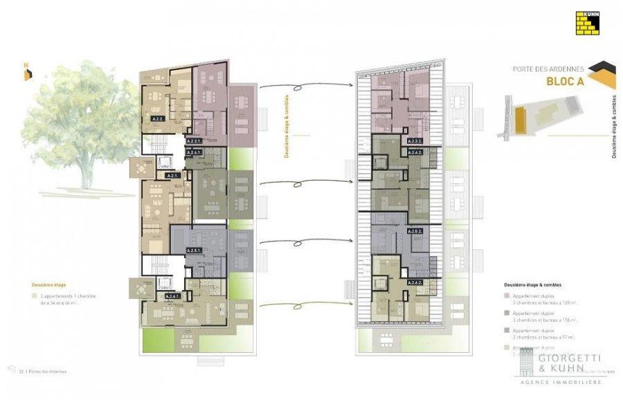 acheter duplex 3 chambres 111.29 m² erpeldange (ettelbruck) photo 5