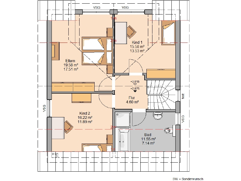 haus kaufen 5 zimmer 122 m² rivenich foto 4