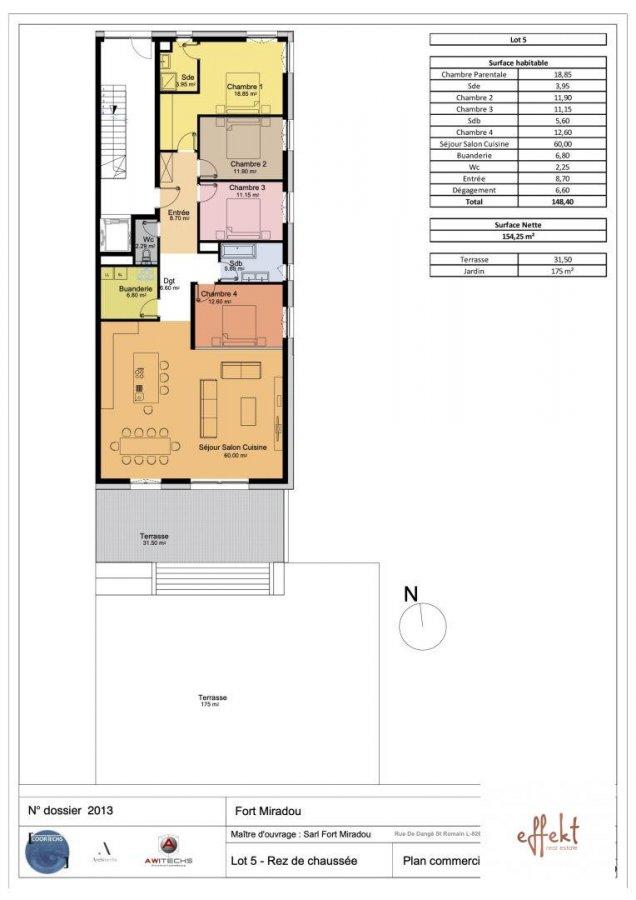 acheter appartement 4 chambres 148 m² mamer photo 2