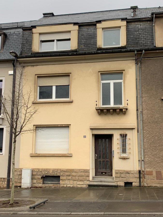 acheter maison mitoyenne 6 chambres 165 m² luxembourg photo 1