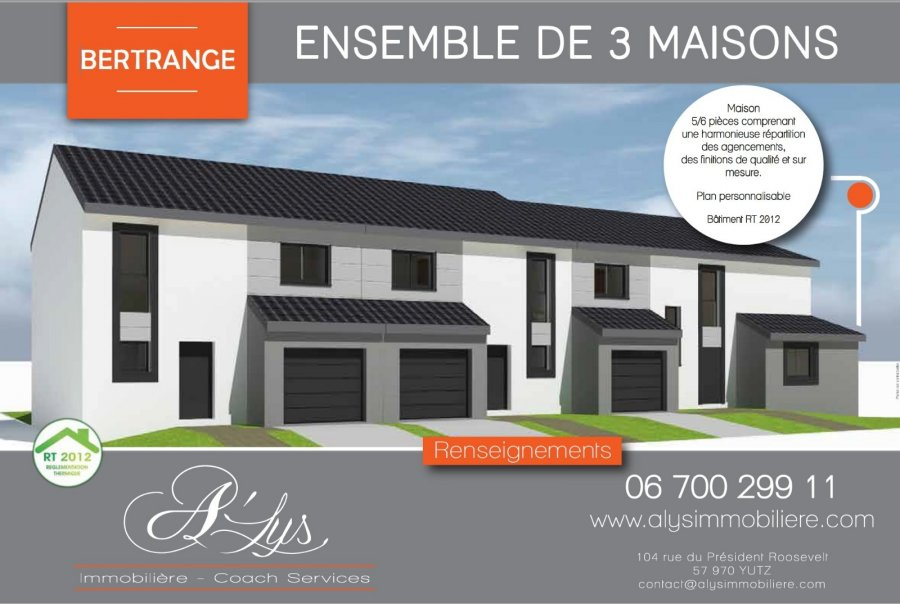 acheter maison 5 pièces 98 m² bertrange photo 4