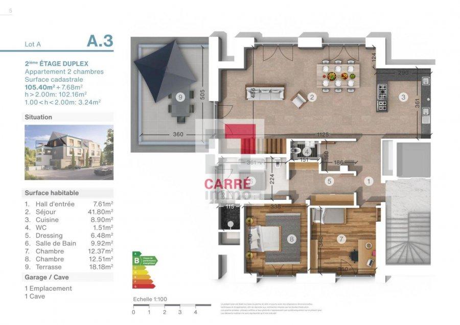 acheter bureau 1 chambre 86 m² luxembourg photo 3