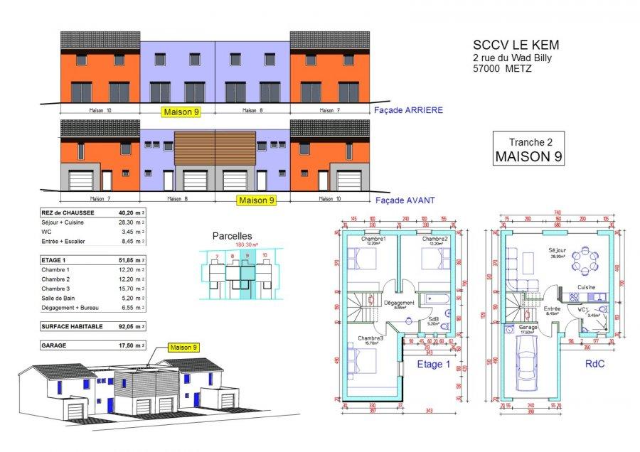 Maison à vendre F4 à Terville