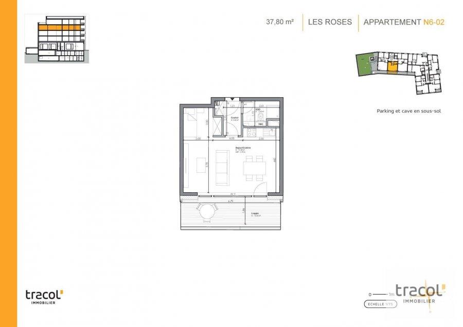 acheter studio 0 chambre 37.8 m² niederkorn photo 2