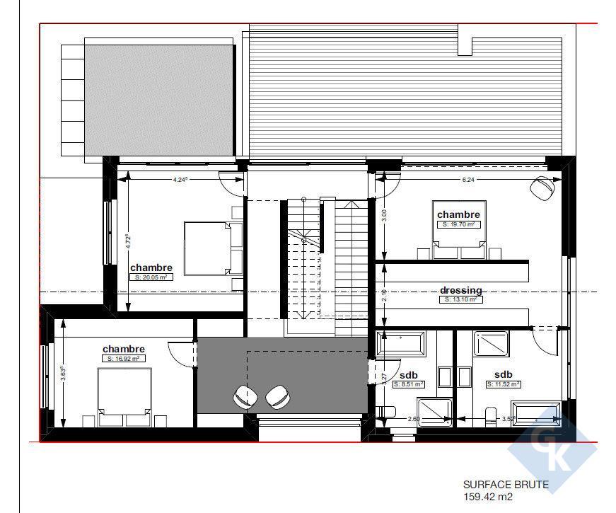 haus kaufen 4 schlafzimmer 280 m² kahler foto 6