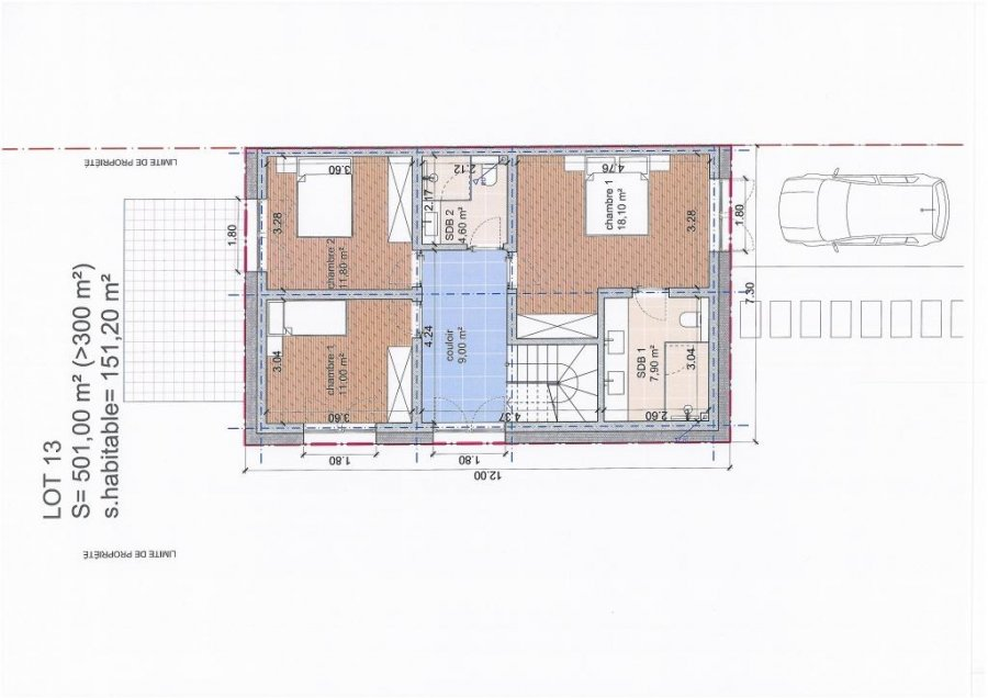 acheter maison individuelle 5 chambres 501 m² elvange (schengen) photo 3