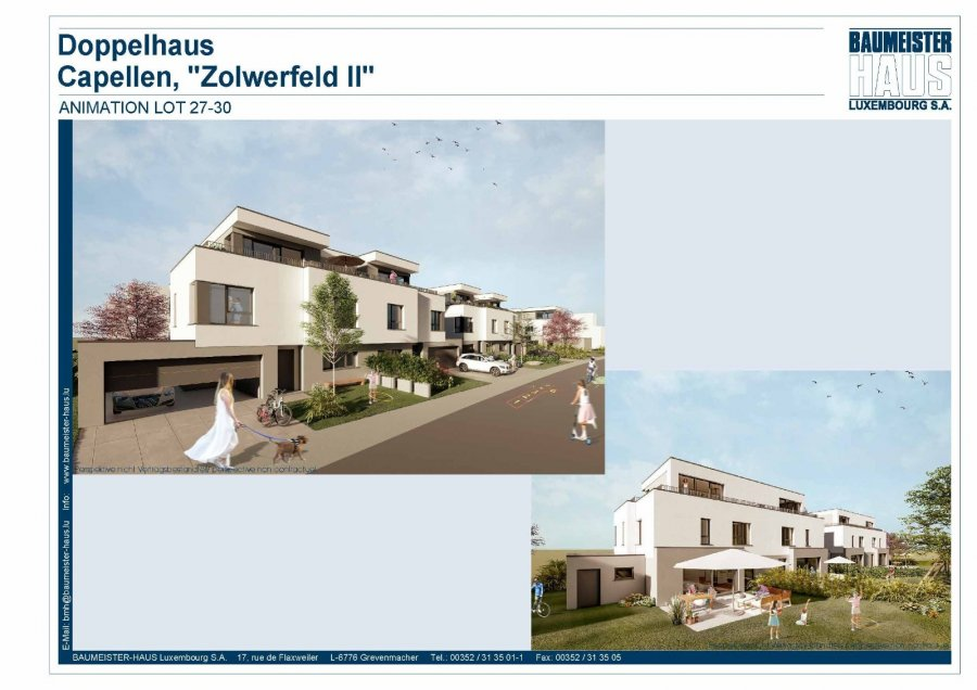 acheter maison jumelée 5 chambres 208 m² capellen photo 1