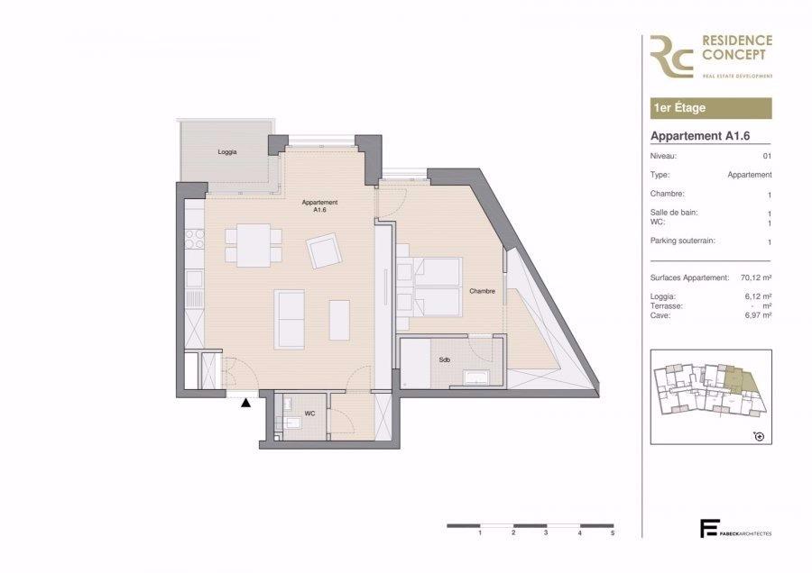 wohnung kaufen 1 schlafzimmer 76.24 m² luxembourg foto 4