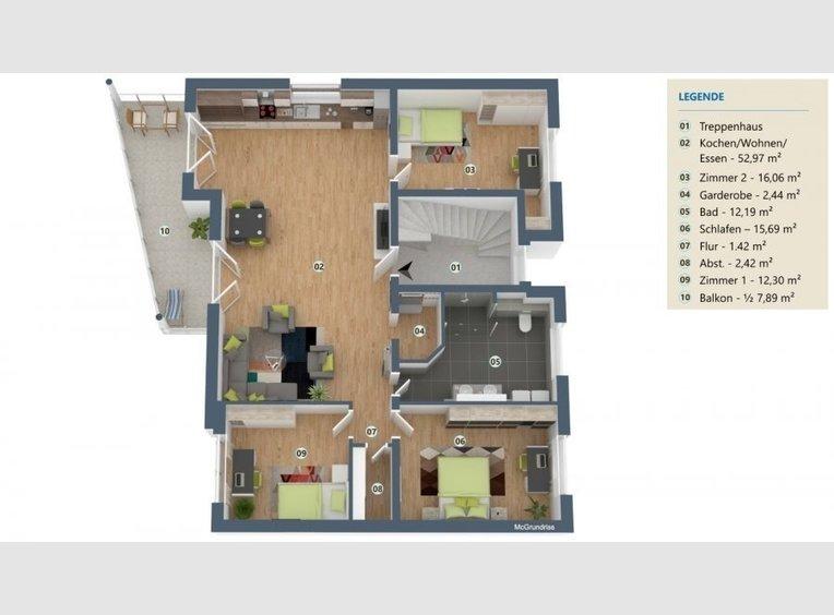 Wohnung zum Kauf 4 Zimmer in Perl-Nennig - Ref. 7136896