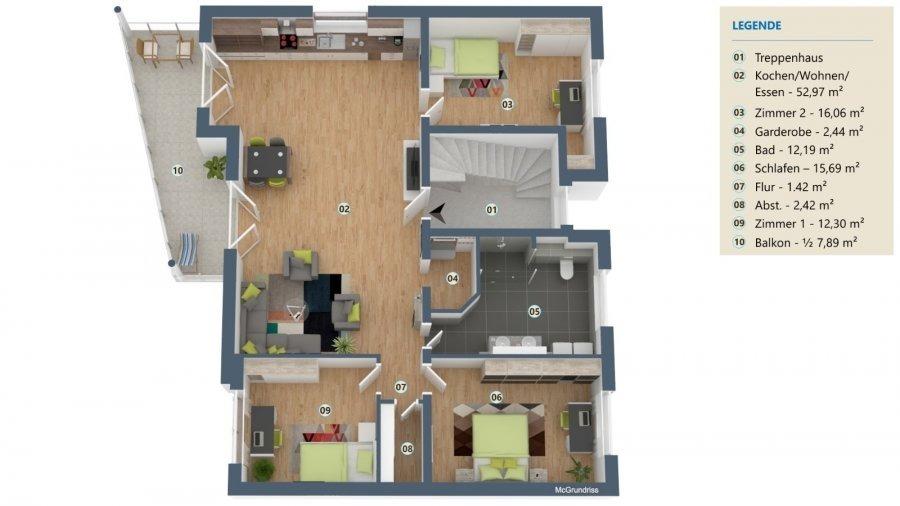 Wohnung zu verkaufen 3 Schlafzimmer in Perl-Nennig