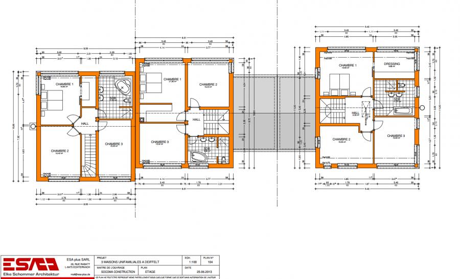 acheter maison jumelée 3 chambres 145 m² deiffelt photo 3