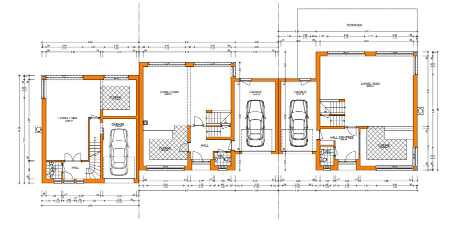 acheter maison jumelée 3 chambres 145 m² deiffelt photo 4