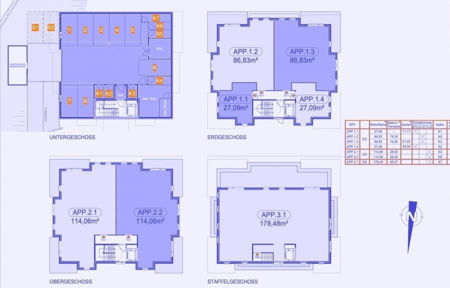 apartment for buy 3 bedrooms 125 m² strassen photo 5