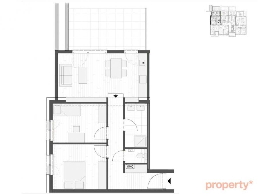 wohnung kaufen 2 schlafzimmer 76 m² luxembourg foto 7